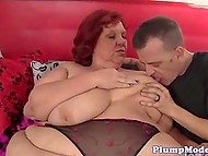 sexy fat mom fuck by other man