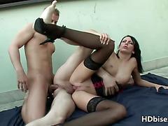 bisexual swingers amateur action