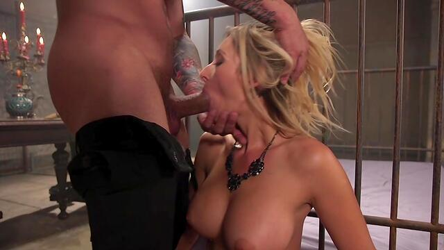 classic blonde girl fucked in holes