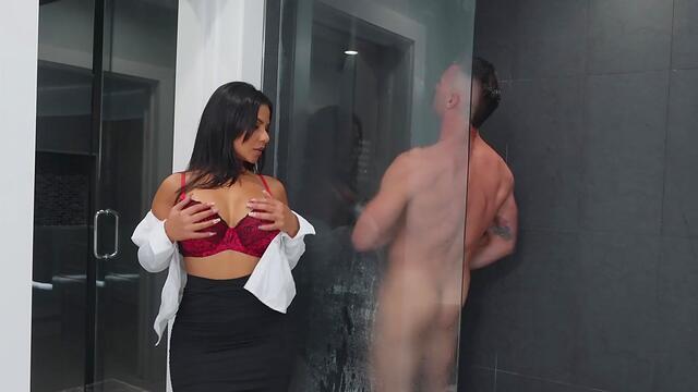 Jasmine Black big tit fucking